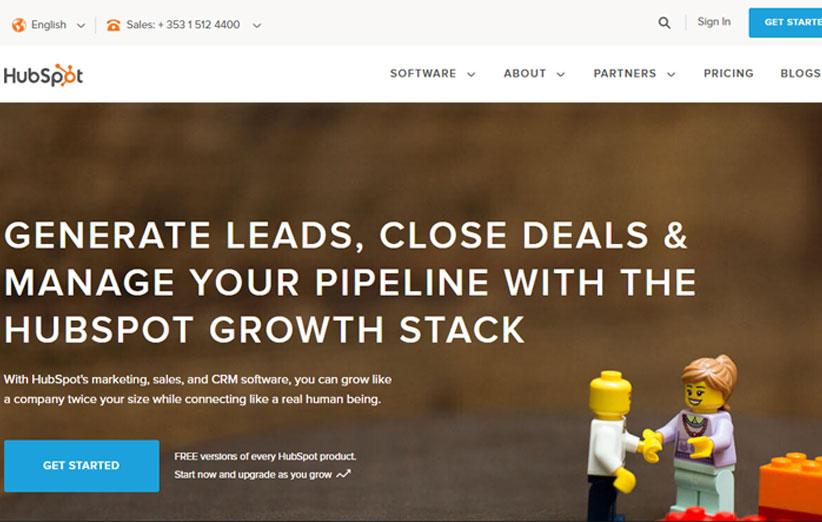 HubSpot ابزار آنلاین اتوماتیک سازی و بهینه کردن فرآیندهای مارکتینگ