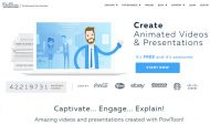 طراحی آنلاین ویدئوهای تبلیغاتی و انیمیشن با PowToons