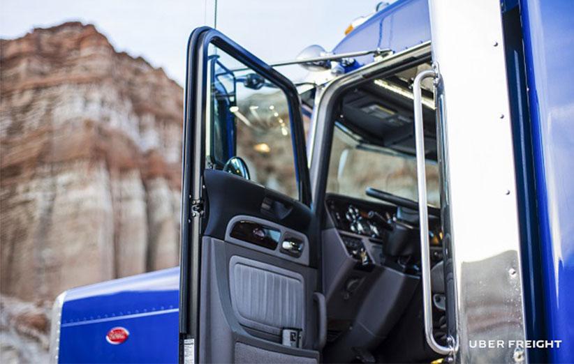 Uber Freight اپلیکیشن حمل بار اوبر ویژه کامیونداران