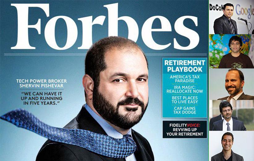 کارآفرینان صاحبنام و موفق ایرانی در سیلیکون ولی